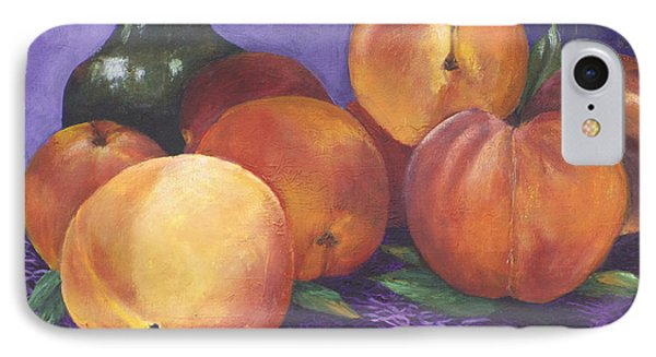Peaches And Wine IPhone Case by Alika Kumar