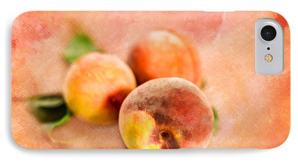 IPhone Case featuring the photograph Peachy by Mary Timman