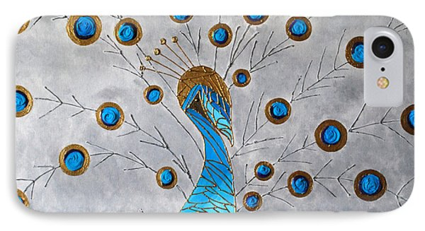 Peacock And Its Beauty Phone Case by Sonali Kukreja