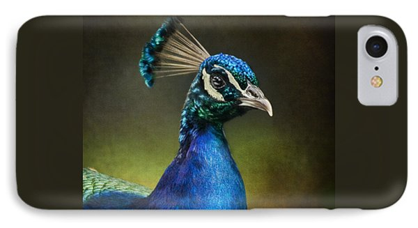 Peacock IPhone Case by Ann Lauwers