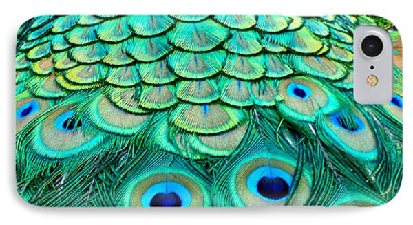 Peacock Back IPhone Case