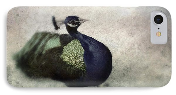 IPhone Case featuring the photograph Peacock by Bradley R Youngberg