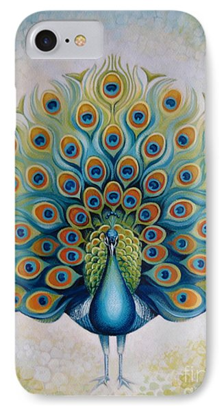 Peacock IPhone Case by Elena Oleniuc