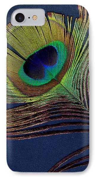Peacock Feather IPhone Case by Ann Powell