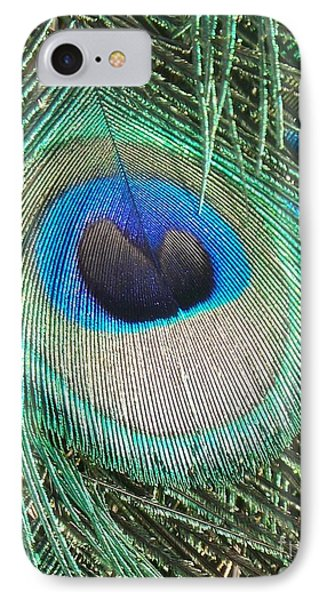Peacock Feather IPhone Case by Eric  Schiabor