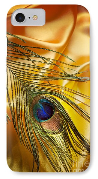 Peacock Feather IPhone Case by Jelena Jovanovic