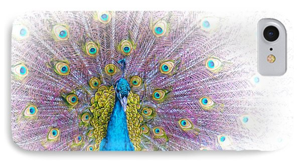 Peacock IPhone Case by Holly Kempe