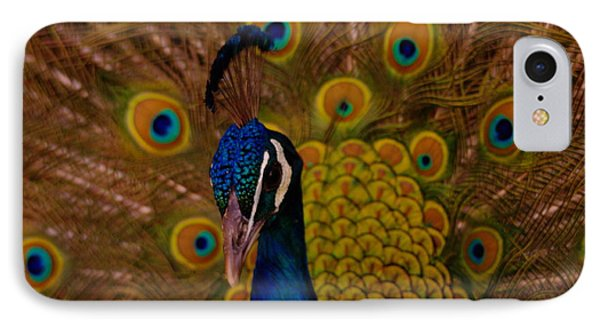 Peacock Phone Case by Jeff Swan