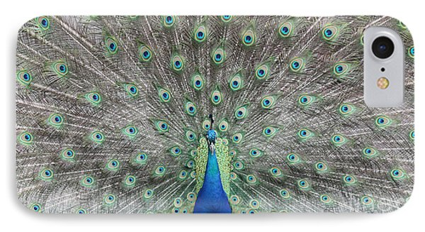 IPhone Case featuring the photograph Peacock by John Telfer