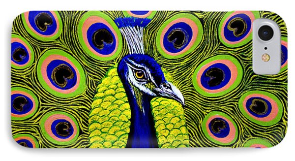 Peacock Mistique Phone Case by Adele Moscaritolo