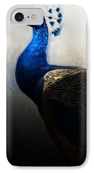 Peacock Portrait IPhone Case