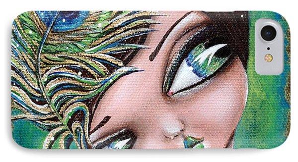 Peacock Princess IPhone Case