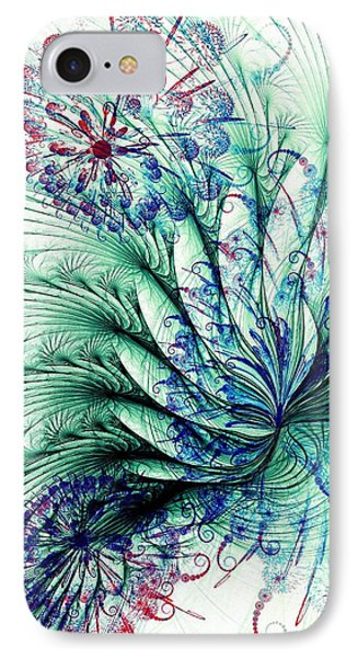 Peacock Tail IPhone Case by Anastasiya Malakhova