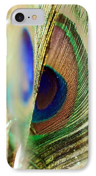 Peacocks Dance The Samba Phone Case by Lisa Knechtel