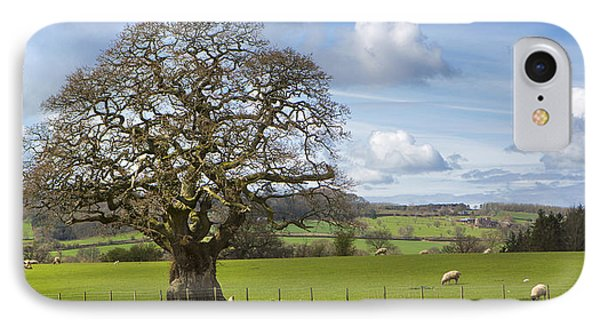 Peak District Tree IPhone Case