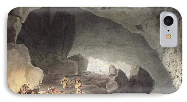 Peaks Hole, Derbyshire IPhone Case by Joseph Mallord William Turner