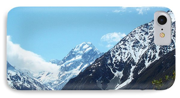Peaks Of New Zealand IPhone Case by John Potts