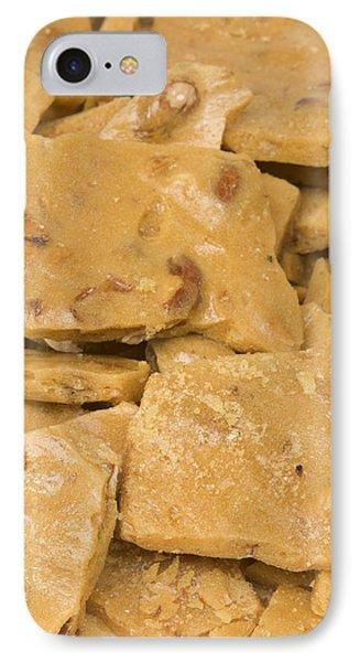 Peanut Brittle Closeup IPhone Case