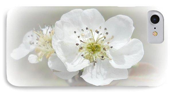 Pear Blossom Phone Case by Judy Hall-Folde
