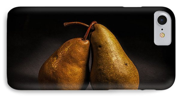 Pear Of Lovers Phone Case by Peter Tellone
