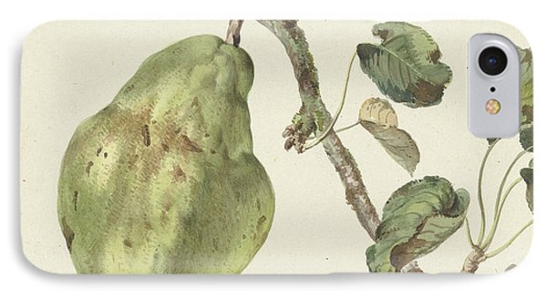 Pear On A Branch, Pieter Gevers IPhone Case by Quint Lox