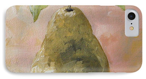 Pear On Peach IPhone Case by Torrie Smiley