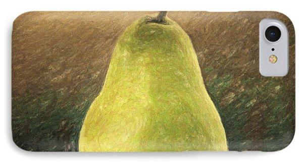 Pear Phone Case by Taylan Apukovska