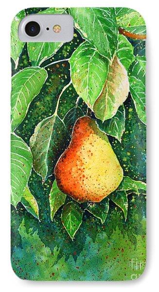 Pear Phone Case by Zaira Dzhaubaeva