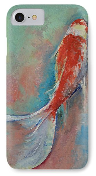 Pearl Banded Koi IPhone Case