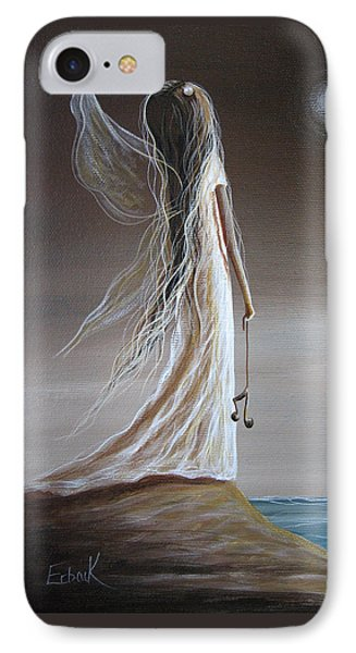 Pearl Fairy Art Print IPhone Case by Shawna Erback