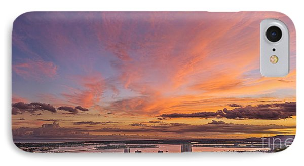 IPhone Case featuring the photograph Pearl Harbor At Sunset by Aloha Art
