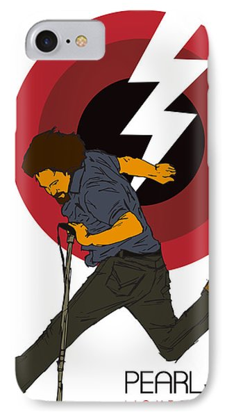 Pearl Jam Lightning Bolt IPhone 7 Case by Tomas Raul Calvo Sanchez