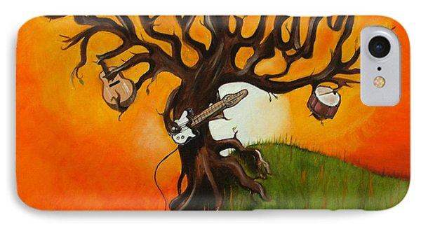 Pearl Jam iPhone 7 Case - Pearl Jam Tree by Tarah Davis