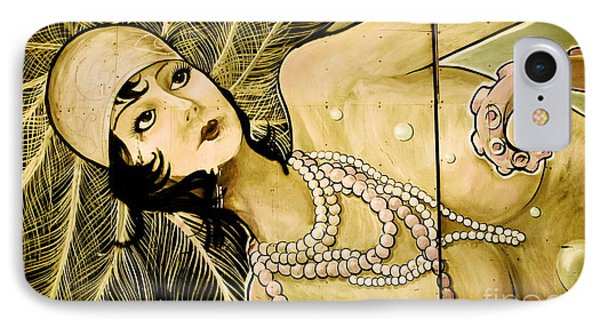 Pearl Mermaid  IPhone Case by Colleen Kammerer