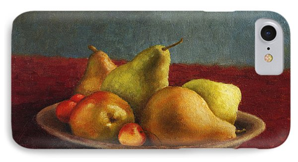 Pears And Cherries IPhone Case