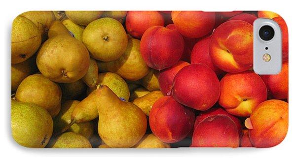 Pears And Peaches. Fresh Market Series Phone Case by Ausra Huntington nee Paulauskaite