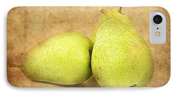 Pears Phone Case by Barbara Orenya