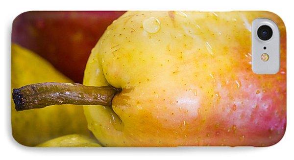 Pears Phone Case by Warrena J Barnerd