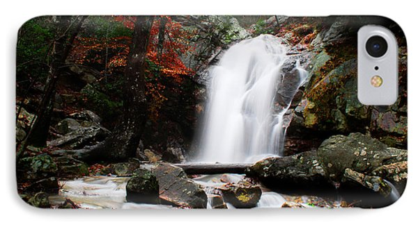 Peavine Falls In Autumn IPhone Case by Shelby  Young