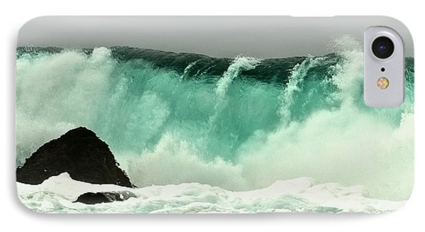 Pebble Beach Crashing Wave Phone Case by Artist and Photographer Laura Wrede