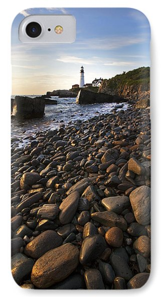 Pebble Beach Phone Case by Eric Gendron