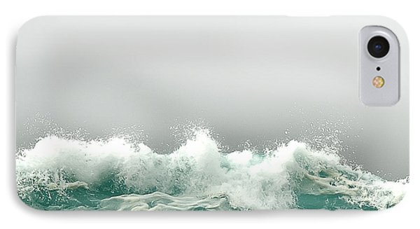 Pebble Beach In The Fog Phone Case by Artist and Photographer Laura Wrede