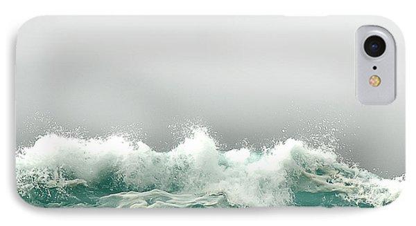Pebble Beach In The Fog IPhone Case