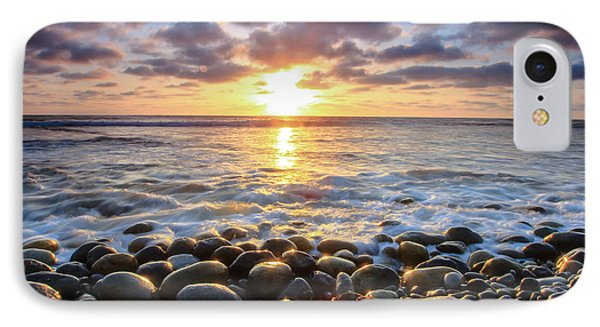 IPhone Case featuring the photograph Pebble Beach by Robert  Aycock