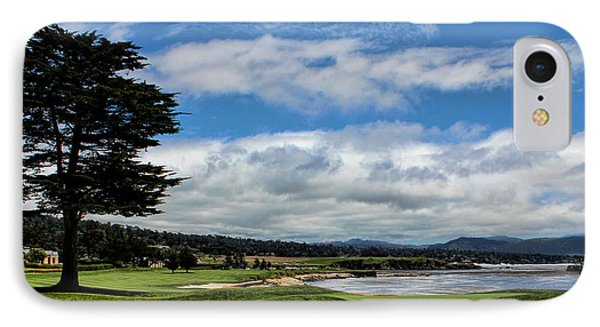 Pebble Beach - The 18th Hole IPhone Case