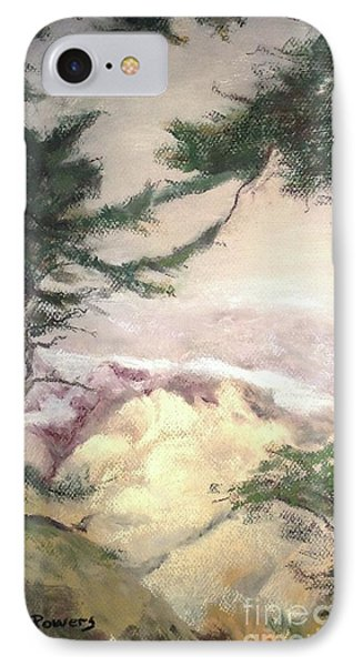 Pebble Beach Vista IPhone Case by Mary Lynne Powers