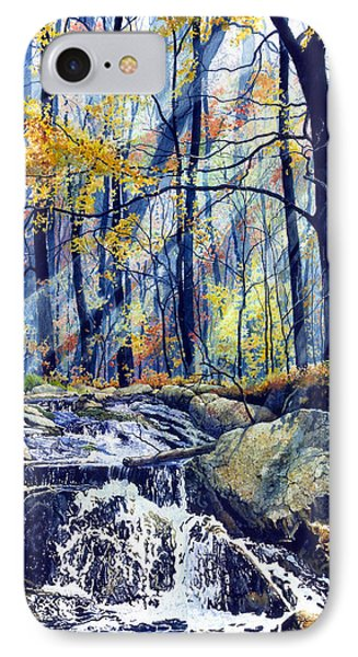 Pebble Creek Autumn Phone Case by Hanne Lore Koehler
