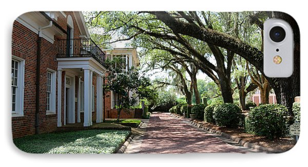 Pebble Hill Plantation Walkway IPhone Case by Carol Groenen