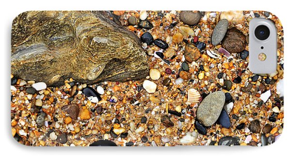 Pebbles And Sand Phone Case by Kaye Menner
