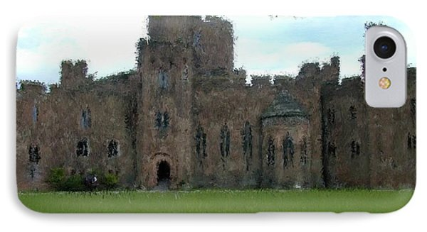 Peckforton Castle IPhone Case by Bruce Nutting
